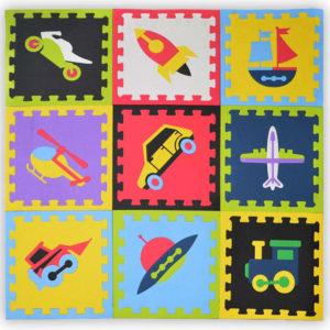Tatame Transportes kit de 9 tatames